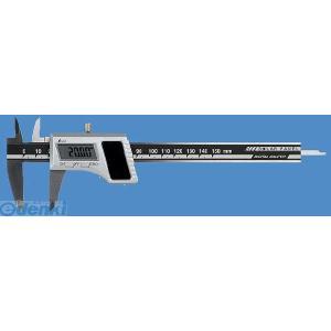 あすつく対応 シンワ測定 19983 デジタルノギス 150mm ソーラーパネル 19983|edenki