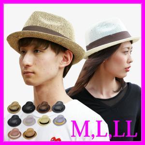 麦わら帽子 大きいサイズ ストローハット 帽子 メンズ