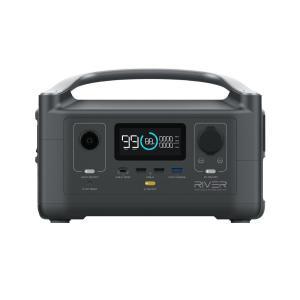 【送料無料】EcoFlow ポータブル電源 大容量 RIVER 288Wh/80000mAh | 蓄電池 家庭用 高出力 災害用電 防災グッズ 発電機 エコフロー リバー|edgeclimbers