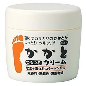 乾燥した固いかかと、ひざ、ひじを柔らかく保つクリームです。 特にかかとが、ガサガサしてお悩みの方に最...