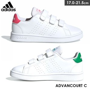 adidas ADVANCOURT C アディダス アドバンコート スニーカー 子供用 キッズ edie
