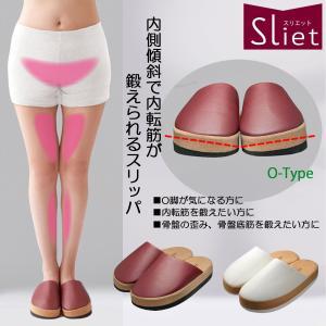 Sliet(スリエット)O-TYPE 健康スリッパ エクササイズ|edie