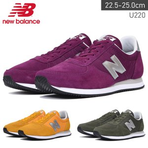 ニューバランス New Balance U220 スニーカー レディース スエード ローカット|edie
