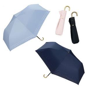 wpc パラソル 日傘 雨傘 折り畳み傘 晴雨兼用 シンプル edie