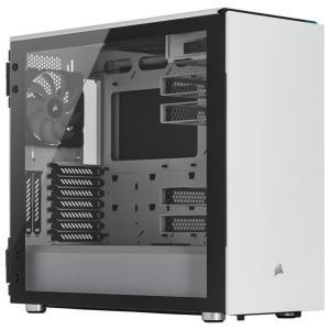 コルセア 678C低騒音強化ガラスATXケース ホワイト CC-9011170-WW [CC9011...