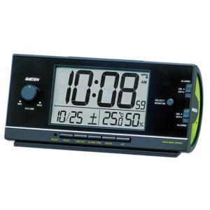 SEIKO 電波目覚まし時計 黒塗装 NR53...の関連商品5