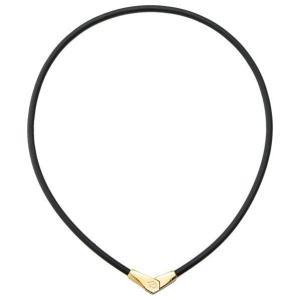 コラントッテ ネックレス ALT Mサイズ ブラック×ゴールド ネツクレスALTGDM [ネツクレスALTGDM]|エディオンPayPayモール店