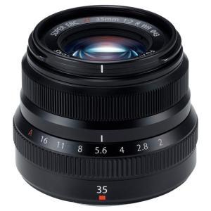 富士フイルム 標準単焦点レンズ ブラック F XF35MMF2 R WR B [FXF35MMF2RWRB]