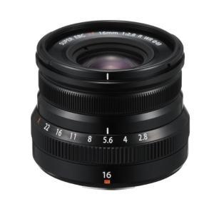 富士フイルム 単焦点レンズ フジノンレンズ XF16mmF2.8 R WR ブラック FXF16MM...