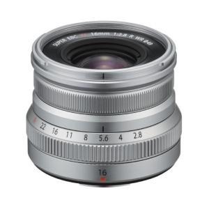 富士フイルム 単焦点レンズ シルバー FXF16MMF28RWRS [FXF16MMF28RWRS]