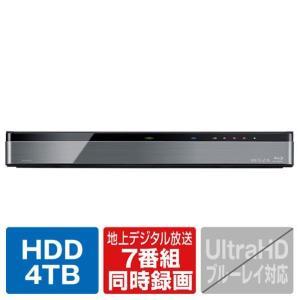 東芝 4TB HDD内蔵ブルーレイレコーダー DBRM4008 [DBRM4008]|edioncom