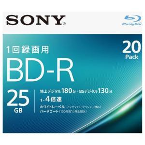 SONY 録画用25GB 1層 1-4倍速対応 BD-R追記...