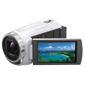 SONY 64GB内蔵メモリー デジタルHDビデオカメラレコーダー ホワイト HDR-CX680 W [HDRCX680W]