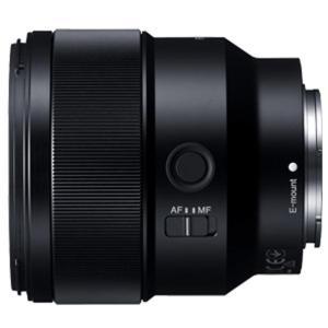 デジタル一眼カメラα[Eマウント]用レンズ。シャープな描写と柔らかいぼけで手軽にポートレート撮影を楽...