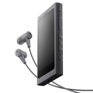 SONY デジタルオーディオプレーヤー(16GB) グレイッシュブラック NW-A45HN B [NWA45HNB]