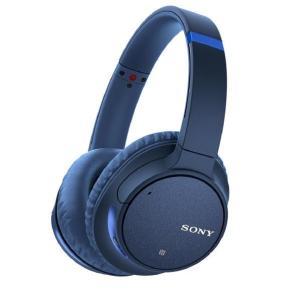 SONY ワイヤレス ノイズキャンセリング ステレオヘッドセット ブルー WH-CH700N L [...