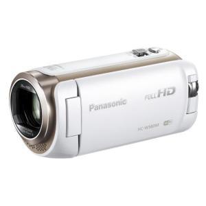 パナソニック デジタルハイビジョンビデオカメラ ホワイト HC-W580M-W [HCW580MW]