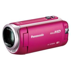 パナソニック デジタルハイビジョンビデオカメラ ピンク HC-W580M-P [HCW580MP]