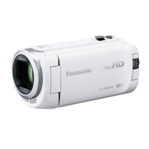 パナソニック 64GB内蔵メモリー デジタルハイビジョンビデオカメラ ホワイト HC-W585M-W [HCW585MW]