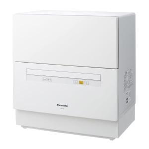 パナソニック 食器洗い乾燥機 ホワイト NP-TA1-W [...