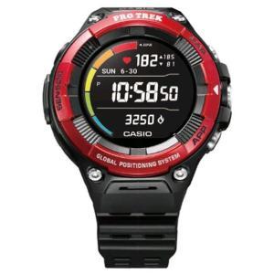 カシオ 腕時計 レッド WSD-F21HR-RD [WSDF21HRRD]|edioncom