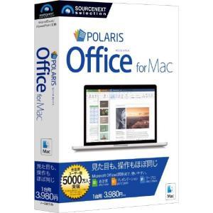 ソースネクスト Polaris Office for Mac POLARISOFFICEMACM [POLARISOFFICEMACM]|edioncom
