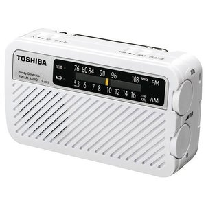 いつでも使える!長期保管に対応!!手回し充電ラジオ。