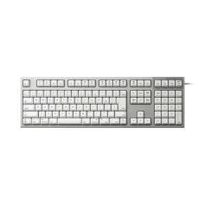 静電容量無接点方式スイッチを搭載したREALFORCEのMac向け静音APCキーボード。