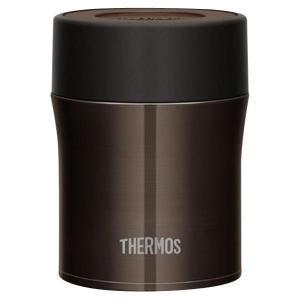 サーモス 真空断熱フードコンテナー(0.5L) ブラック JBM-500BK [JBM500BK]