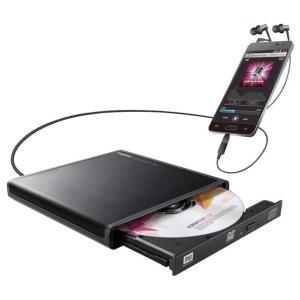 ロジテック Android用CD録音ドライブ ブラック LDR-PMJ8U2RBK [LDRPMJ8U2RBK]