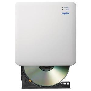 ロジテック 2.4GHz WiFi CD録音ドライブ ホワイト LDR-PS24GWU3RWH [LDRPS24GWU3RWH]|エディオンPayPayモール店