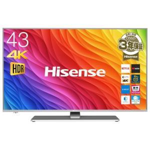 ハイセンス 43V型4K対応液晶テレビ 43A6500 [43A6500]|edioncom