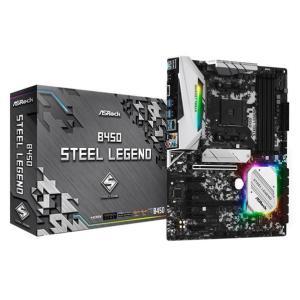 ASROCK ASRock AM4 AMD B450 ATX ゲーミング マザーボード B450 S...