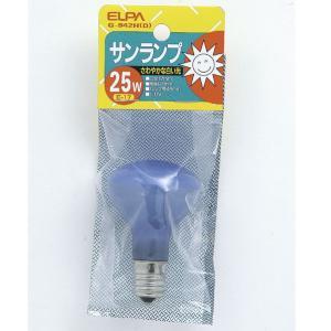 エルパ サンランプ E17口金 25W 昼光 1個入り G-942H(D) [G942HD]|edioncom