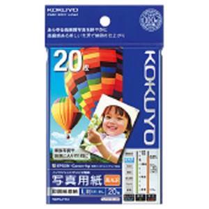 コクヨ IJP用写真用紙 印画紙原紙(高光沢) L 20枚入り KJ-D12L-20 [KJD12L20]