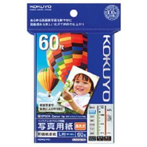 コクヨ IJP用写真用紙 印画紙原紙(高光沢) L 60枚入り KJ-D12L-60 [KJD12L60]