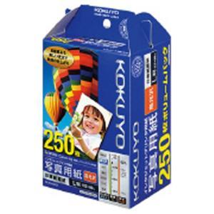コクヨ IJP用写真用紙 印画紙原紙(高光沢)L 250枚入り KJ-D12L-250 [KJD12L250]