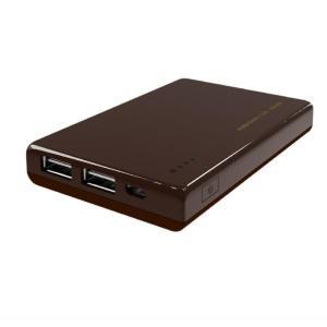 マクセル モバイルバッテリー 5200mAh チョコレート ...