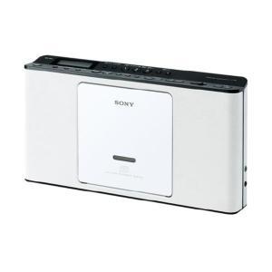SONY CDラジオ ホワイト ZS-E80 W [ZSE80W]