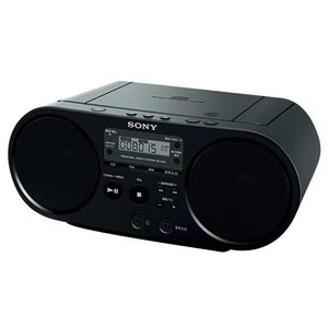 SONY CDラジオ ブラック ZS-S40 B...の商品画像