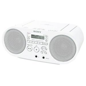 SONY CDラジオ ホワイト ZS-S40 W [ZSS40W]
