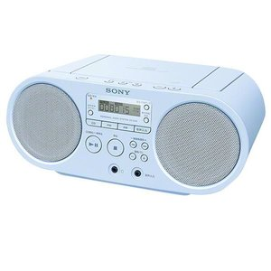 SONY CDラジオ ブルー ZS-S40 L [ZSS40L]