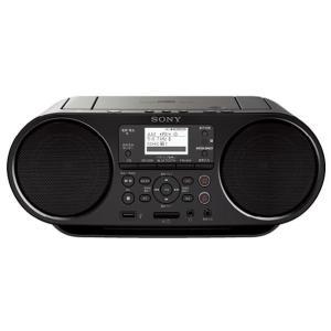 SONY CDラジオ ブラック ZS-RS80BT [ZSRS80BT]