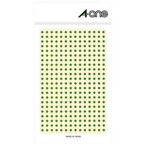 エーワン カラーラベル 緑 丸型 3mmφ ...の関連商品10