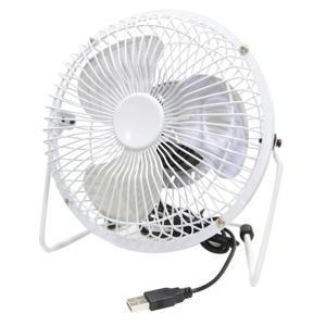 タイムリー USB扇風機 ホワイト STEELUFANWH [STEELUFANWH]