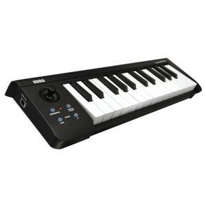 新開発のベロシティ対応ナチュラル・タッチ・ミニ・キーボードを搭載したコンパクトなUSB MIDIキー...