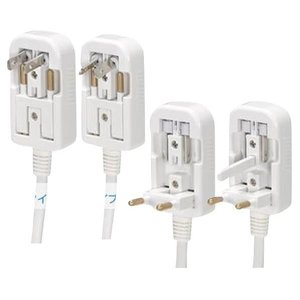 ヤザワ 海外用旅行用マルチプラグ変圧器 ホワイト HTDM130240V1500W [HTDM130240V1500W] edioncom