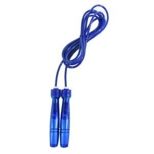 アルインコ ジャンプロープ ショートグリップ 2重跳び ブルー WB007A [WB007A]|edioncom