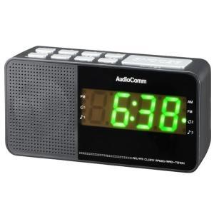 オーム電機 デジタル選局クロックラジオ RAD-...の商品画像