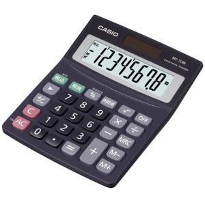 カシオ 電卓 MS-7LBK-N [MS7LBKN]|edioncom
